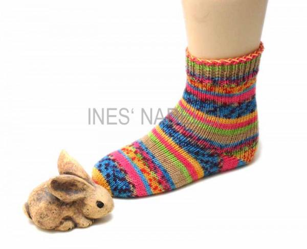 Socken Gr. 28/29 aus Lana Grossa Meilenweit Rocky Fb. 3106