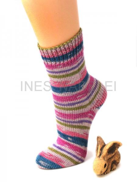 Socken Gr. 39/40 aus Regia Cotton Horizont Color Fb. 6403