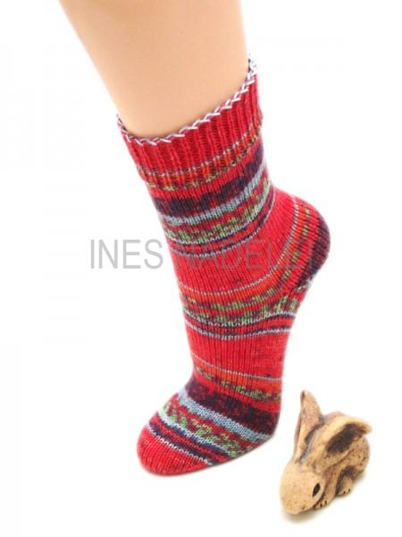 Socken Gr. 36/37 aus Opal Regenwald 15 Fb. 9772