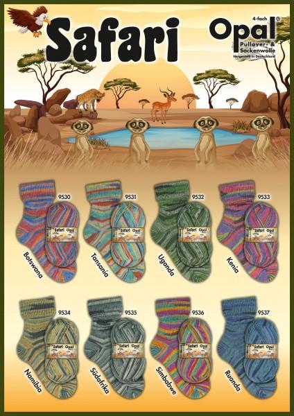 100g Sockenwolle Opal Safari