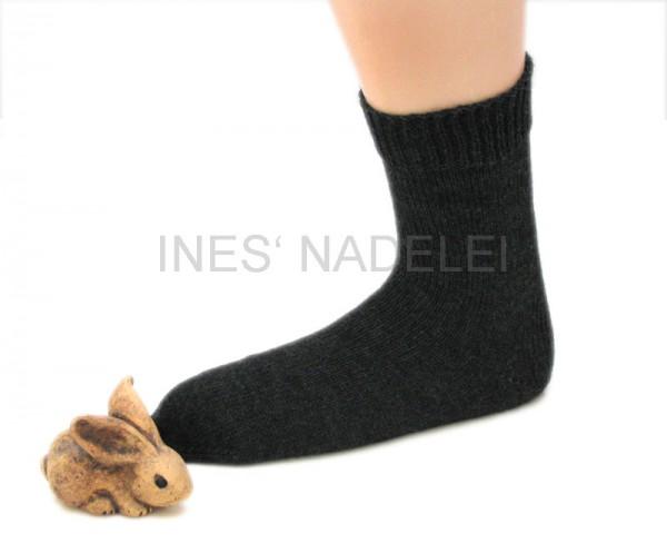 Socken aus Opal Uni anthrazit Fb. 5191