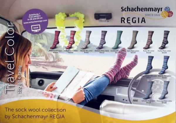 100g Sockenwolle Regia Travel