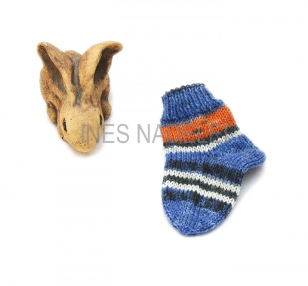 Socken Gr. 14/15 aus Austermann Step Summer Stripes Fb. 278