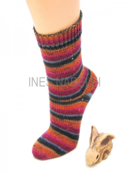 Socken Gr. 38/39 aus Regia Tweed Color Fb. 7492