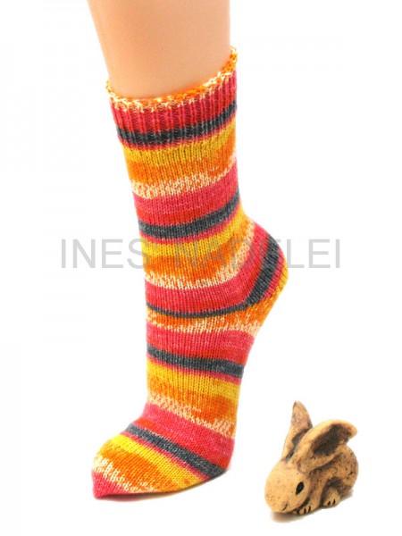 Socken Gr. 38/39 aus Fortissima Tropic Colors Fb. 91