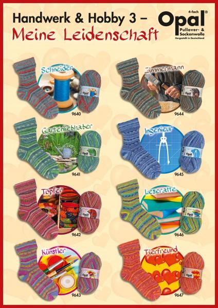 100g Sockenwolle Opal Handwerk & Hobby 3