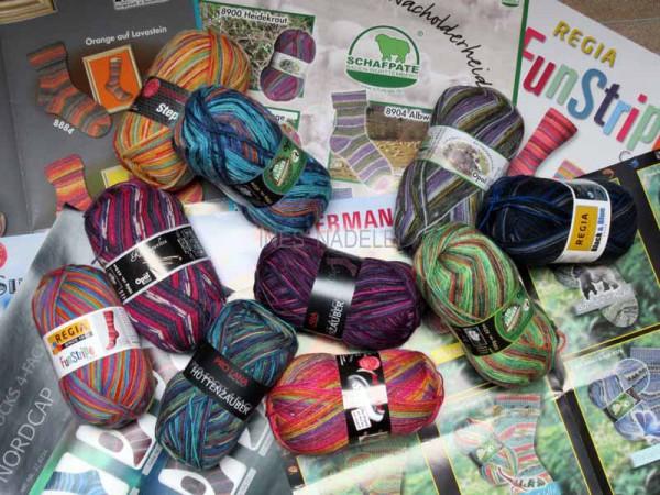 1000g Sockenwolle als Überraschungspaket