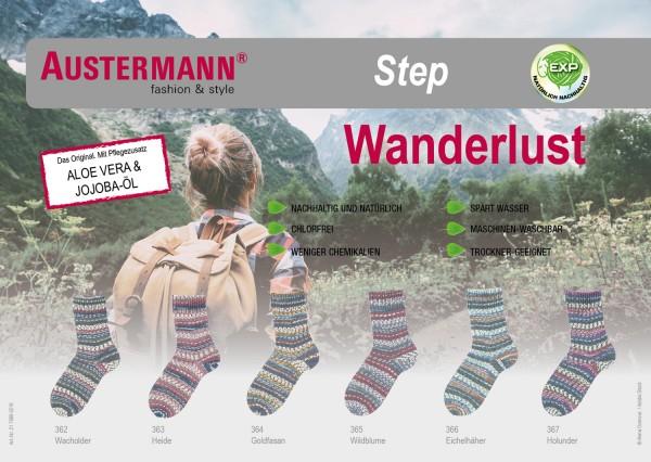 100g Sockenwolle Austermann Step Wanderslust