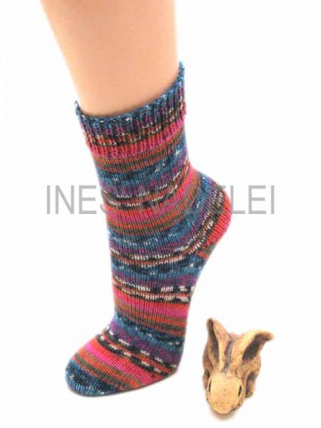 selbstgestrickte Socken Gr. 37/38 aus Austermann Step Infinity Fb. 264