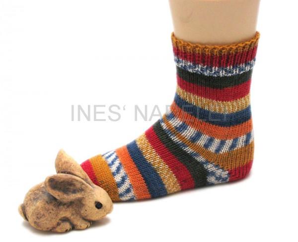 Socken Gr. 32/33 aus Lana Grossa Meilenweit Fantasy Fb. 4710