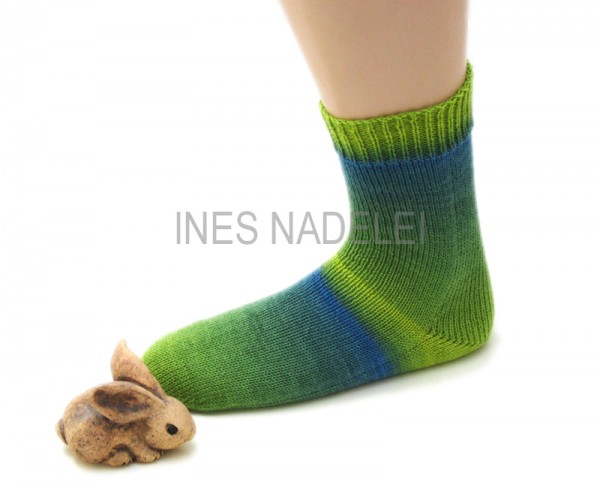 Socken Gr. 41/42 aus Lang Yarns Super Soxx Fb. 901.0158