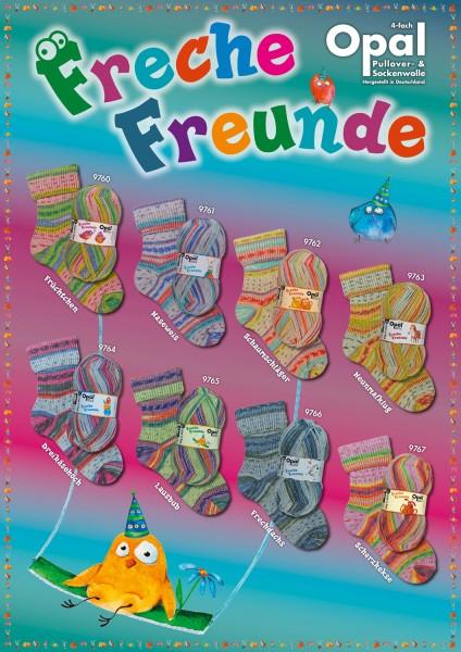100g Sockenwolle Opal Freche Freunde